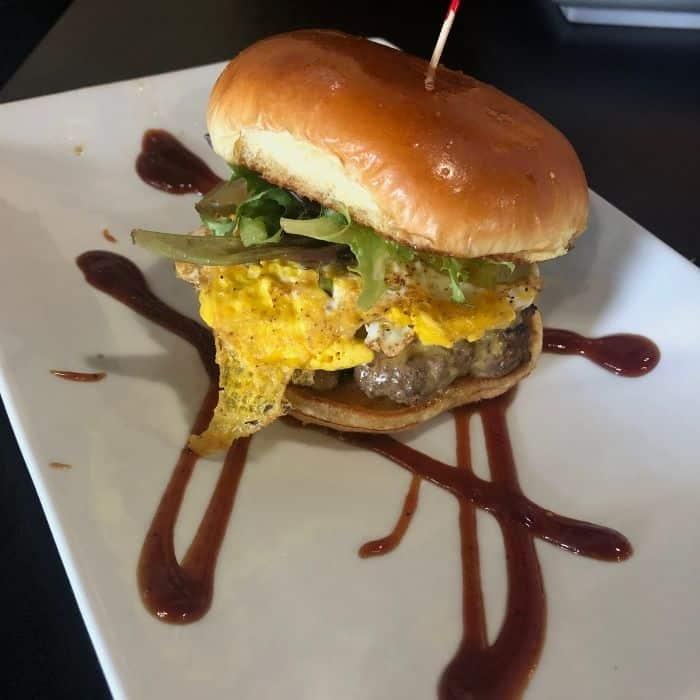 sandwich at SuperChef's Restaurant
