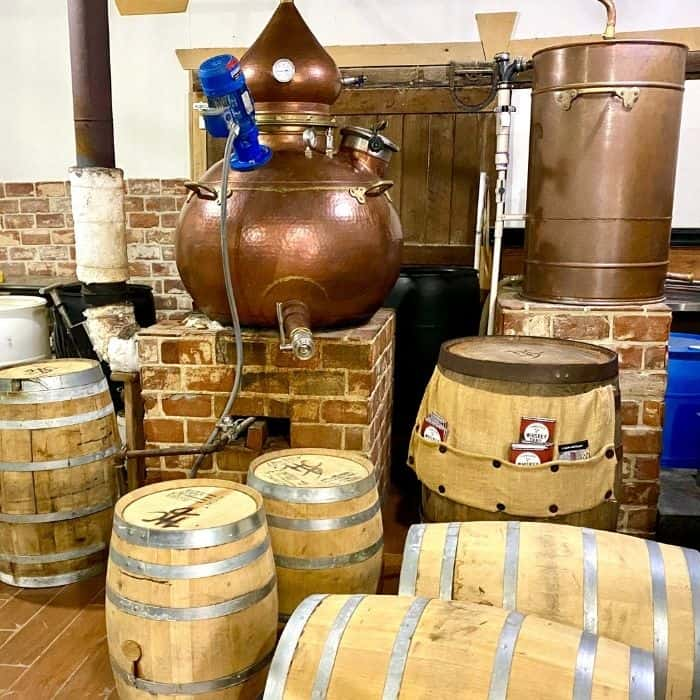 tour of  H Clark Distillery