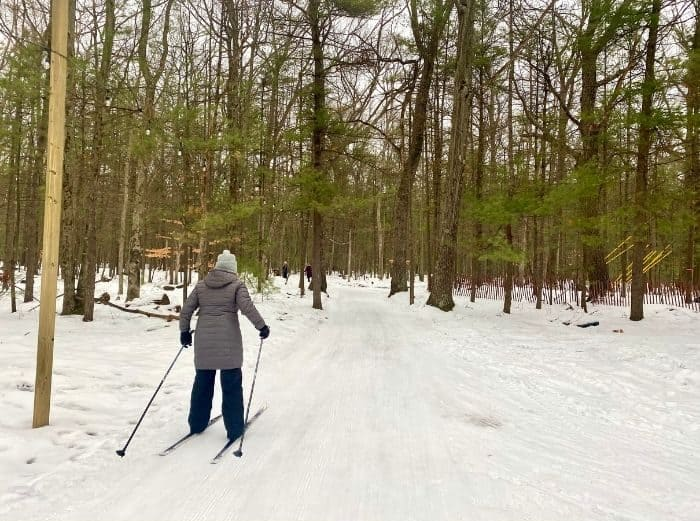 Cross Country skiing at Muskegon Luge Adventure Park