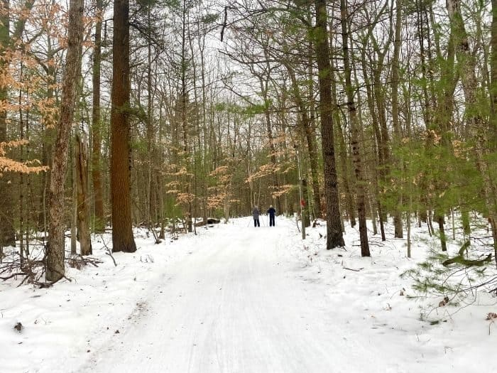 Cross country skiing at Muskegon Luge Adventure Sports Park