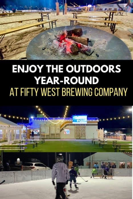 Enjoy the Outdoor Year-Round at Fifty West Brewing Company