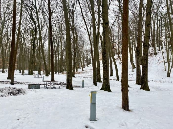Muskegon campground near Muskegon Luge Adventure Park