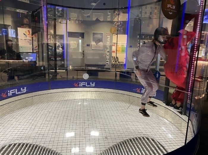Nedra McDaniel at iFLY Cincinnati