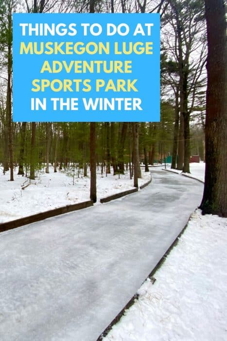Things to Do at Muskegon Luge Adventure Sports Park in the Winter