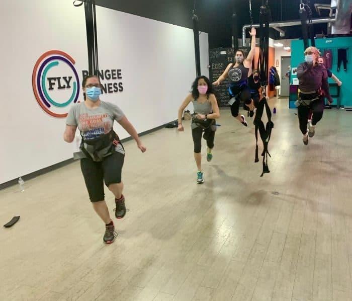 bungee cord fitness classes Cincinnati