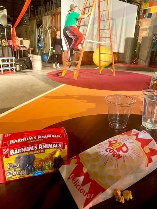 concession snacks at Family Matinee Circus and Workshop at Bircus Brewing Company
