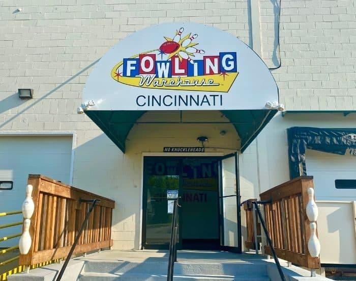 entrance to Fowling Warehouse Cincinnati