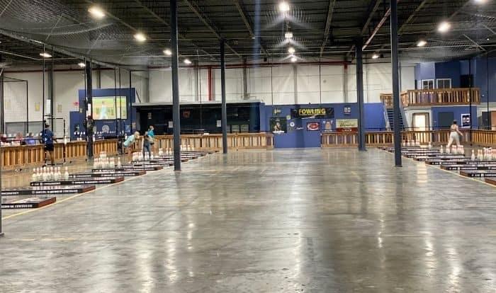 fowling game area at Fowling Warehouse Cincinnati