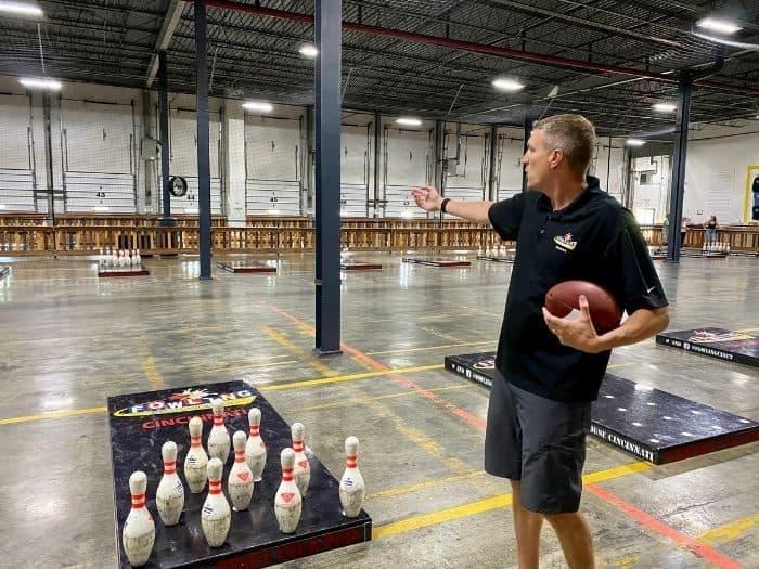 fowling game instruction at Fowling Warehouse Cincinnati
