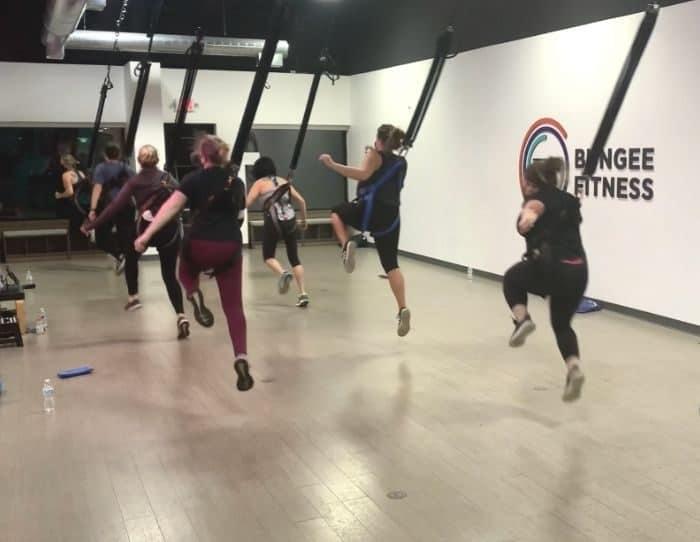 group Bungee Fitness Class in Cincinnati