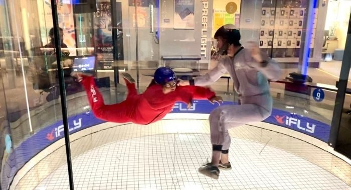 indoor skydiving at Ifly Cincinnati