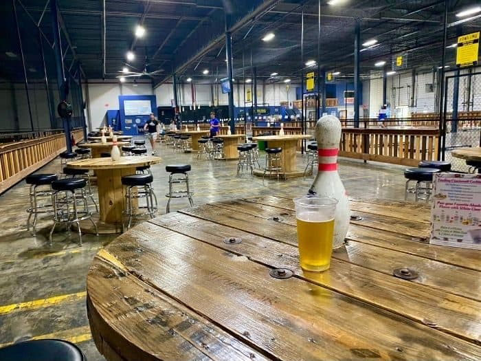 seating area at Fowling Warehouse Cincinnati
