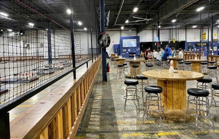 seating area at Fowling Warehouse Cincinnati