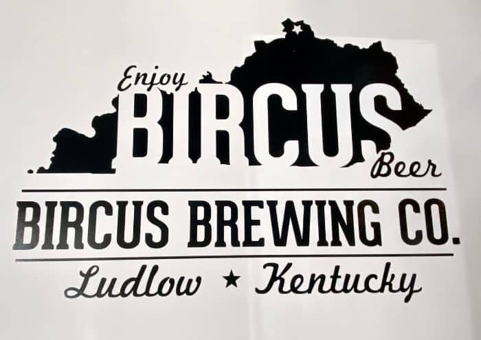 sign for Bircus Brewing Company