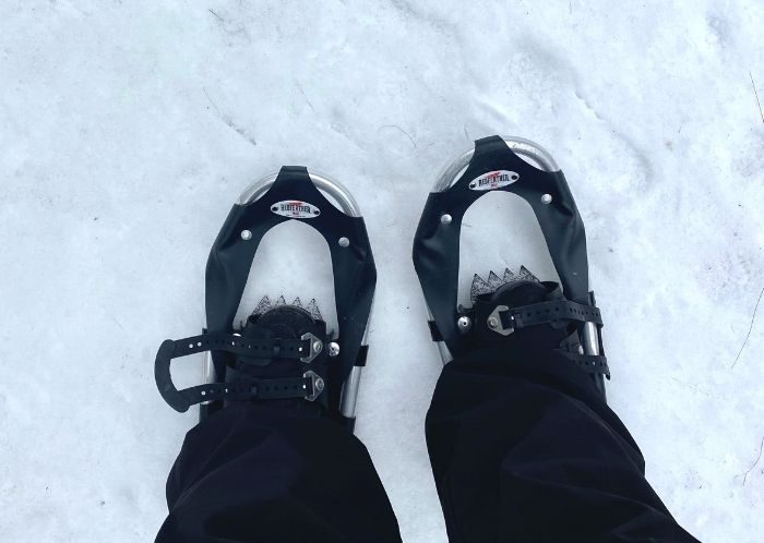 snowshoe rentals from Muskegon Luge Adventure Park