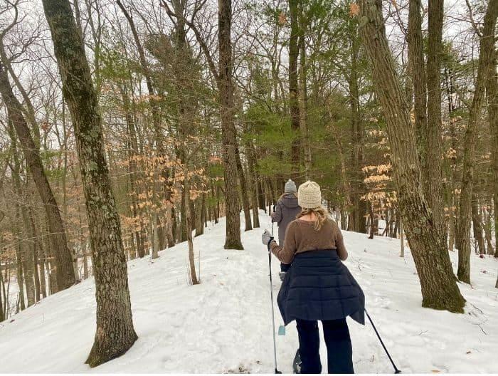 snowshoe trails near Muskegon Luge Adventure Park