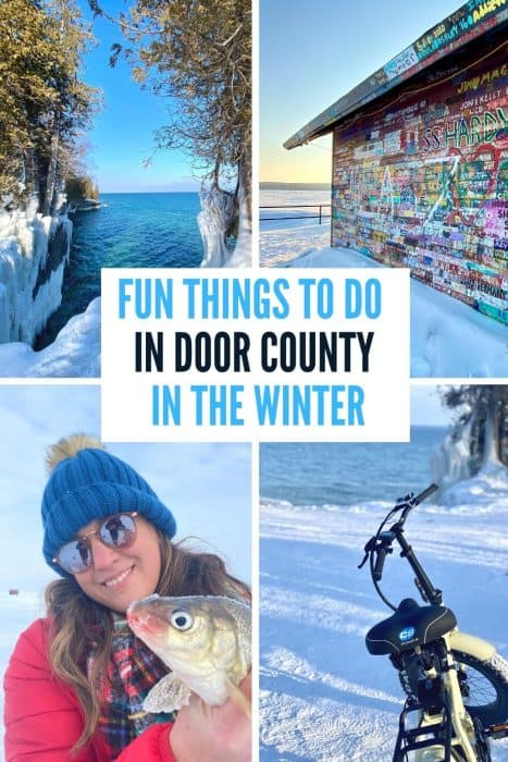 Fun Things to Do in Door County in the Winter