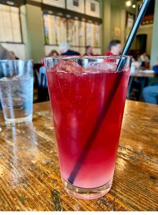 Janis Joplin lemonade at Katharine and Company