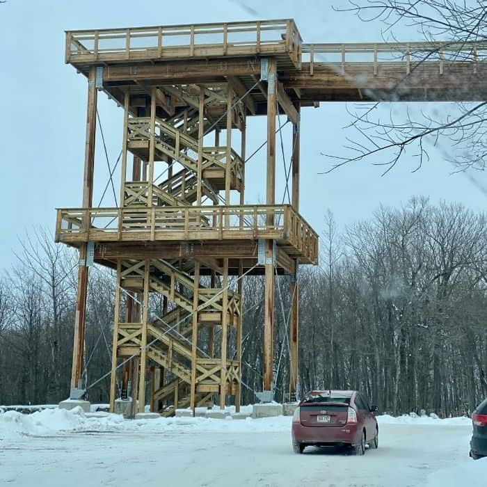 Observation Tower at Peninsula State Park