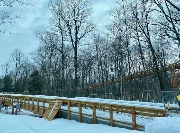 accessible ramp at Peninsula State Park