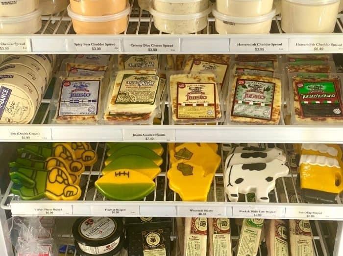 artisan cheese at Renard's Cheese Store