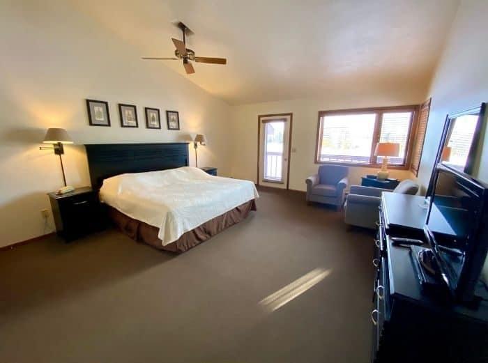 bedroom at The Rushes in Door County