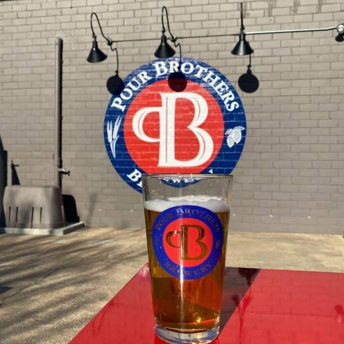 beer at Pour Brothers Brewery