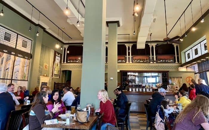 dining at Katharine and Company