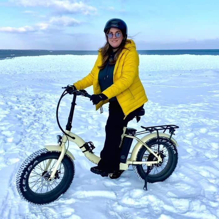e bike tour in Door County