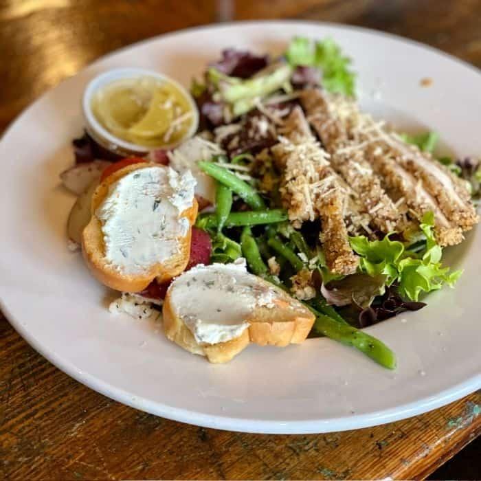 salad at Katharine and Company
