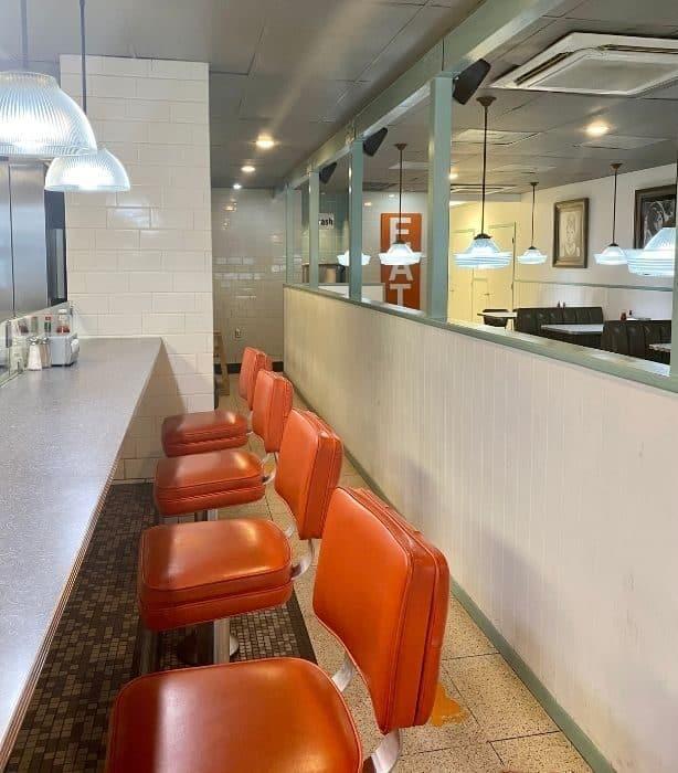 seating at Willy Burger
