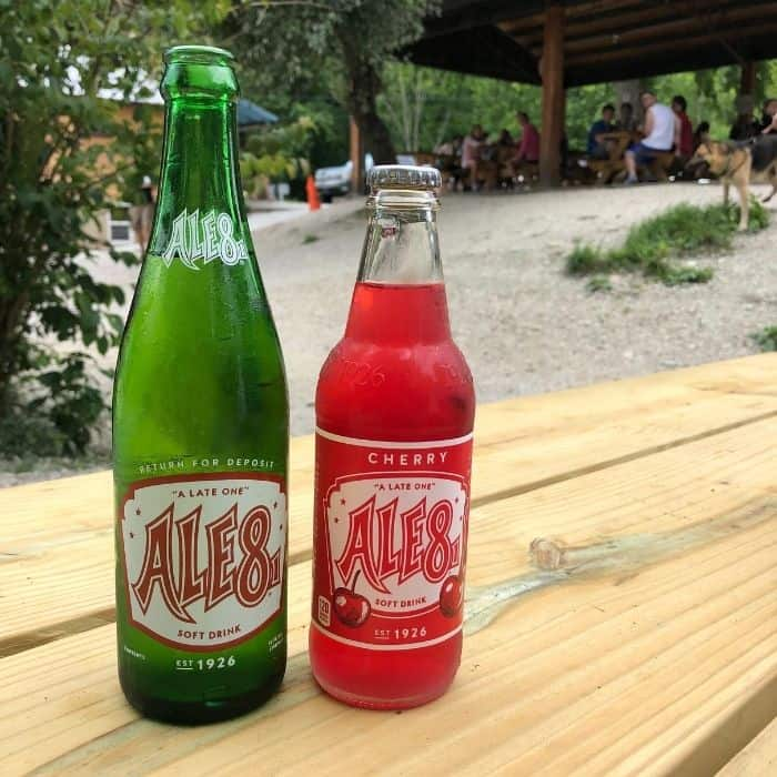 Ale Ale 8 one at Miguel's Pizza one at Miguel's Pizza
