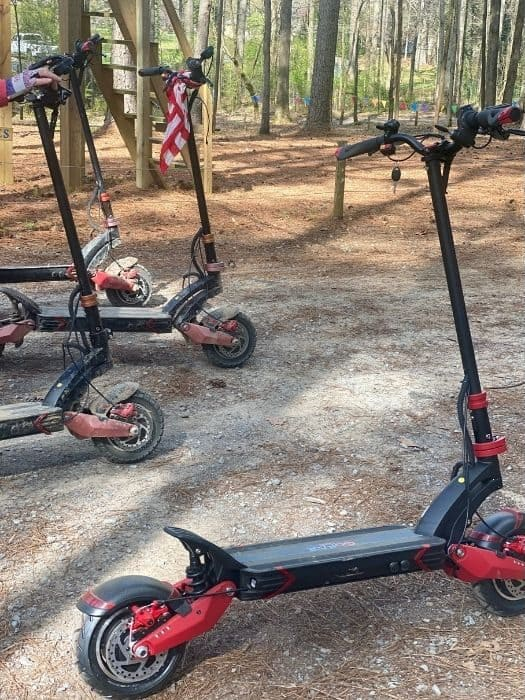 Electric Off Road Scooters at GoFAR USA Park
