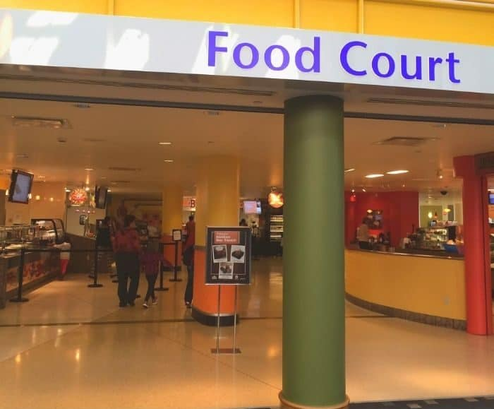 Food Court at Children's Museum of Indianapolis
