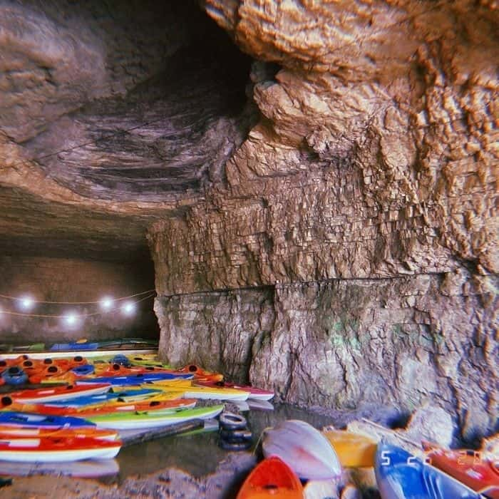 Kayaking in a Cave at The Gorge Underground