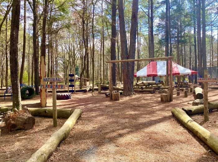 Natural playscape GoFar USA Park