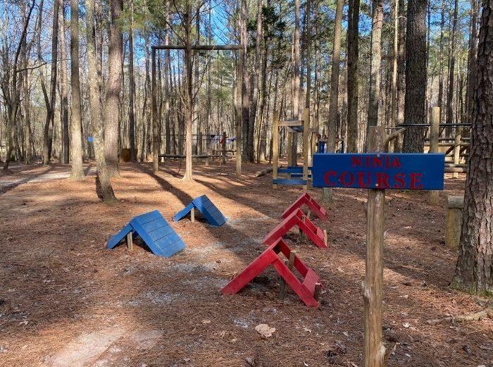 Ninja Course at GoFAR USA Park