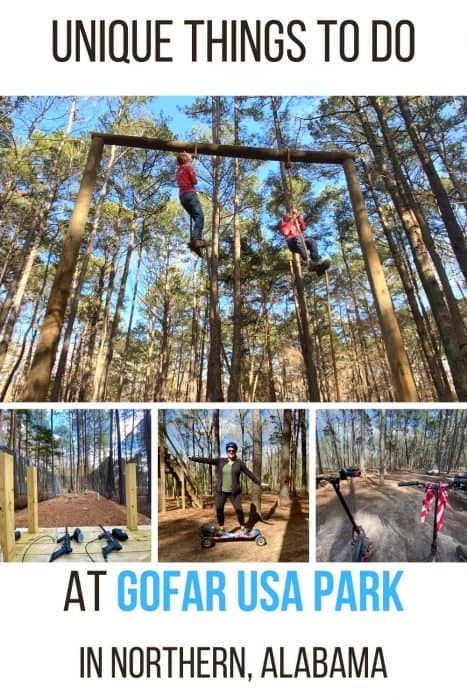 Unique Outdoor Adventures at GoFAR USA Park