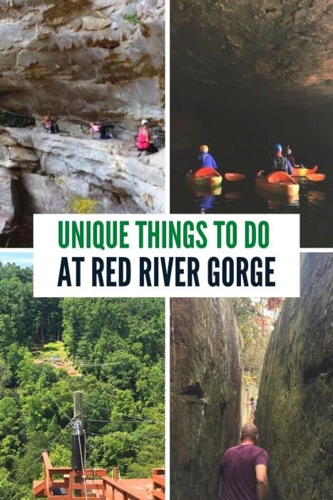 Unique Things to Do at Red River Gorge in Kentucky
