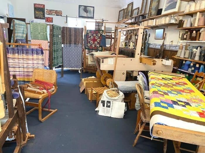 Weaver's Bottom Craft Studio in Artisan Village Berea