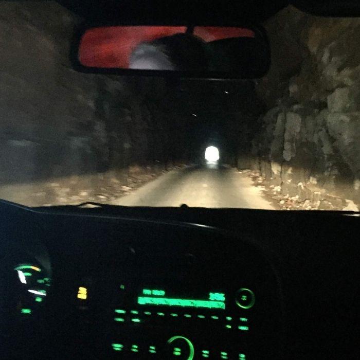inside Nada Tunnel in Kentucky