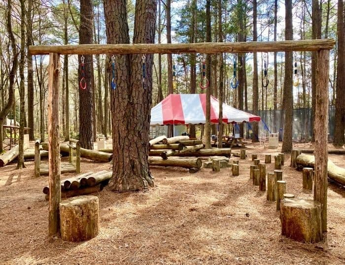 obstacle course at GoFAR USA Park