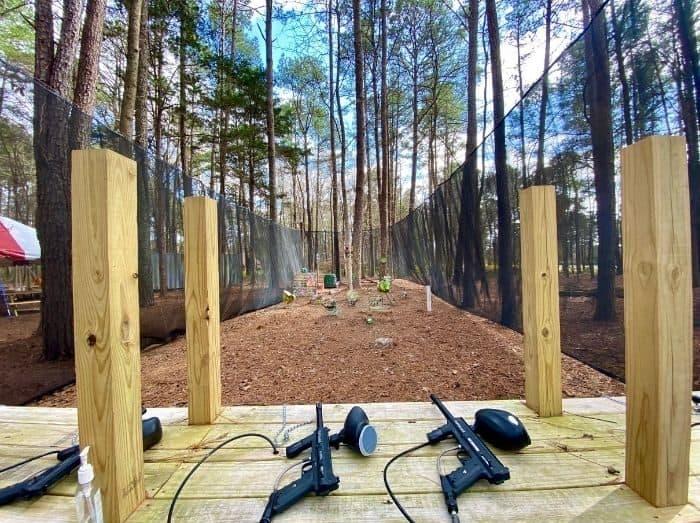 paintball shooting range at GoFAR USA Park