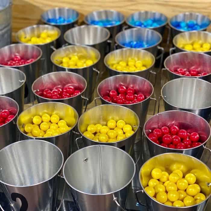 paintballs for the shooting range at GoFAR USA Park