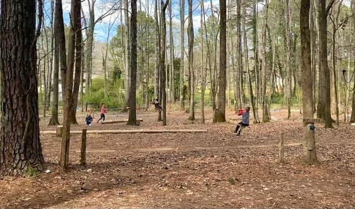 zipline at GoFAR USA Park