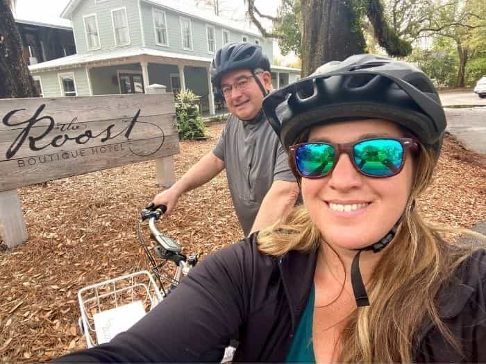 Adventure Mom and dad at The Roost Boutique Hotel