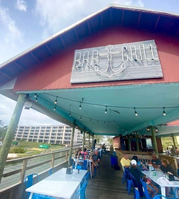 Anchor Bar and Grill in Orange Beach