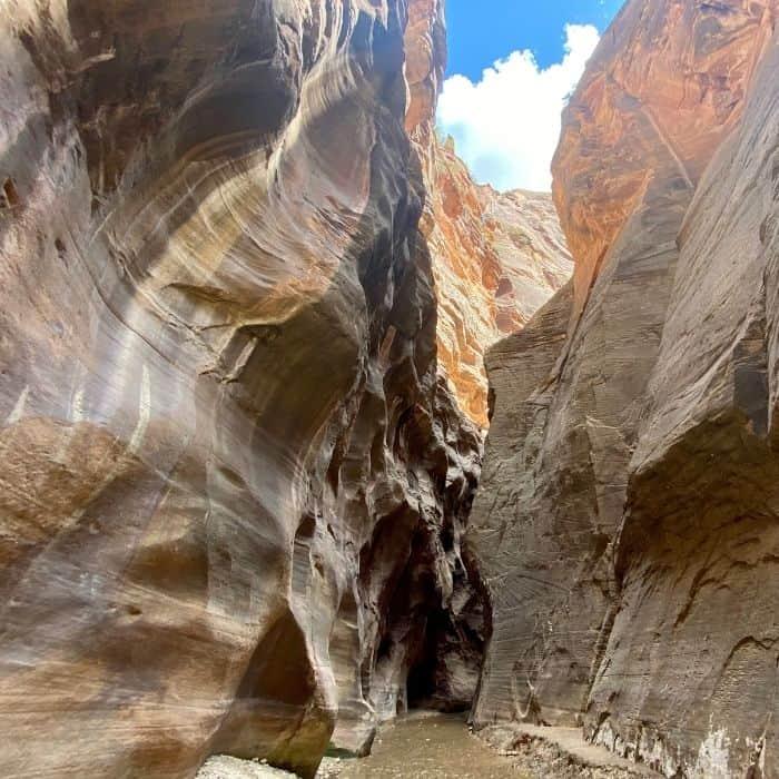Bottom-Up Narrows Hike at Zion National Park
