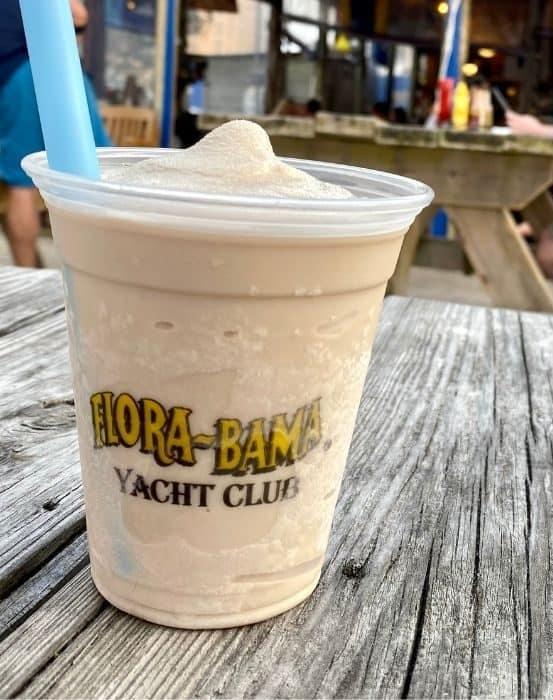 Bushwacker signature drink at Flora-Bama Yacht Club