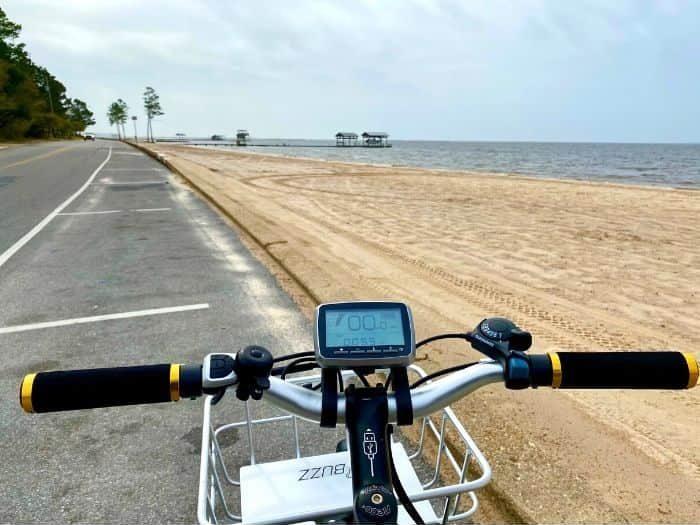 Buzz e-bike to the beach